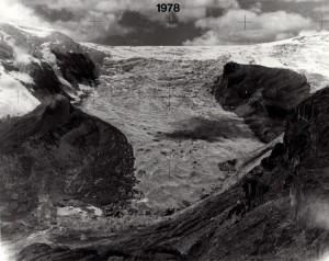 Qori Kalis Glacier (Peru) 1978