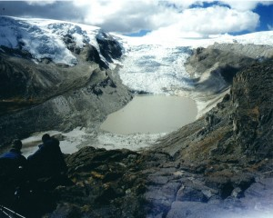 Qori Kalis Glacier (Peru) in 2006