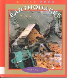 Earthquakes book cover image