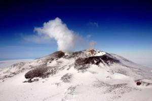 Mt. Erebus summit