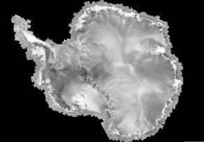 Antarctica smoothed mosaic
